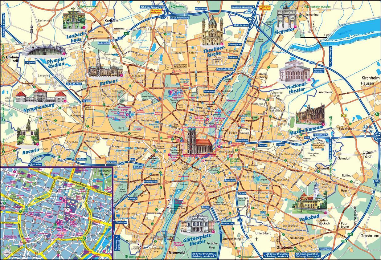 Munich offline map - Munich map offline (Bavaria - Germany) on basel switzerland map, bastia map, yonah mountain map, europe map, salzburg map, altaussee map, graz airport map, ljubljana map, vienna map, temuco map, trieste map, austria map, beqa map, kaliningrad map, obertraun map, alps map, hallstatt map, faaa map, sarajevo map, djanet map,